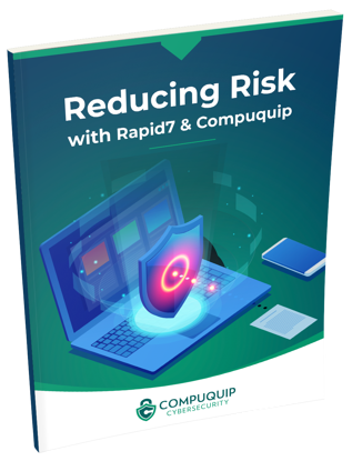 reducing risk with Rapid7 & Compuquip Series 3D Cover