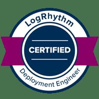 LogRhythm-LRDE-Deployment-Engineer-Badge