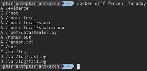 Docker Diff